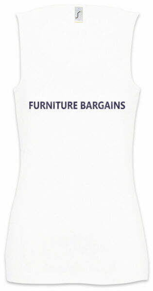 Furniture Bargains Women Tank Top Eastenders East Symbol Sign Logo Venture $24.95