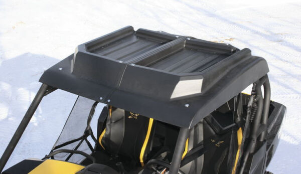 Hard Top Black 2 Piece Roof for Can Am Commander 800 R 1000 R amp; Maverick 1000 R $229.90