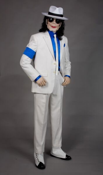 Michael Jackson Art Soft Sculpture Life Size Sized Doll - King of Pop