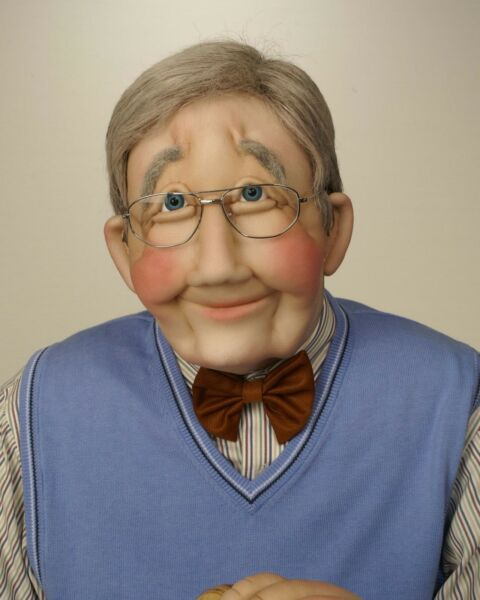 Grandfather  Grandpa Art Soft Sculpture Life Sized Doll