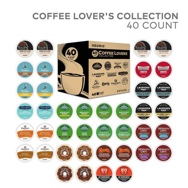 Green Mountain Coffee K CUPS Variety Pack Single-Serve K-Cup 40ct FREE SHIPPING