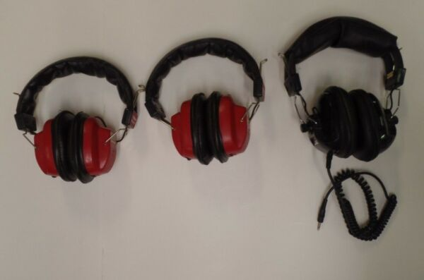 Winston Model HP-10000 Radio Headsets x2 & Frequency Fanclub Headset 111418DBT2