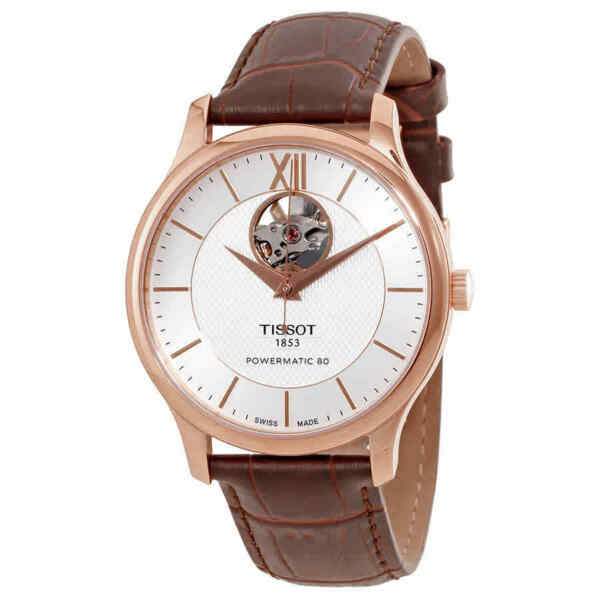 Tissot T Classic Tradition Automatic Silver Dial Men#x27;s Watch T063.907.36.038.00 $464.59