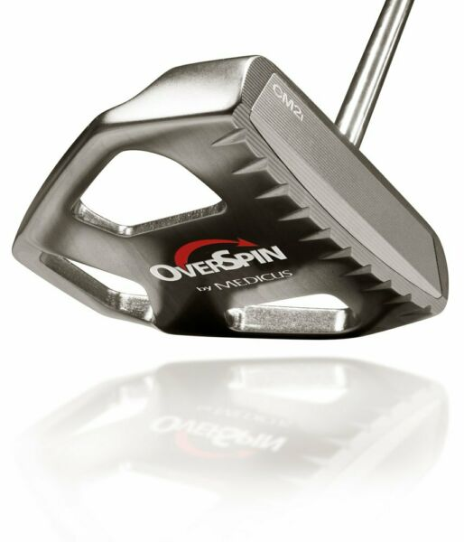 NEW Medicus Overspin CM2i 35 Inch Right Hand Pro Golf Putter Club Straight Roll