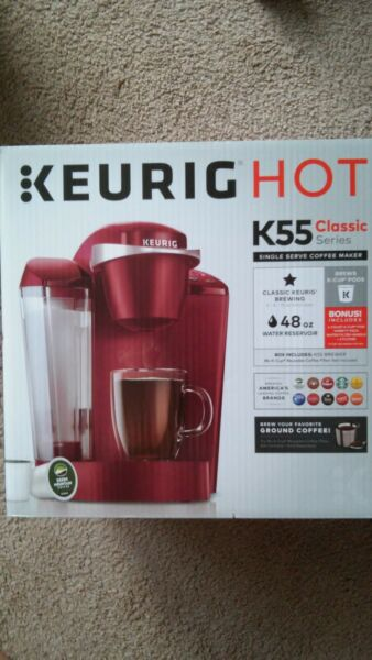 New Keurig Hot K55 Classic Series Single Serve Coffee Maker