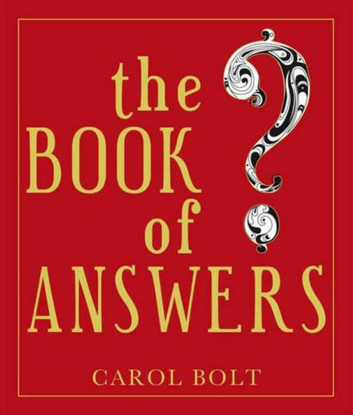 The Book Of Answers by Carol Bolt Paperback Book Free Shipping