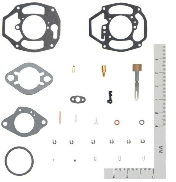 Chevy carburetor Kit for 6cyl 1950 1951 1952 1953 1954 1955 1956 Rochester 1bbl. $24.75