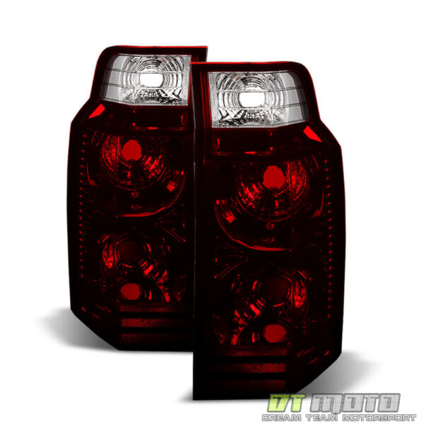 Dark Red 2006 2010 Jeep Commander Tail Lights Lamps Aftermarket Rear LeftRight $69.99
