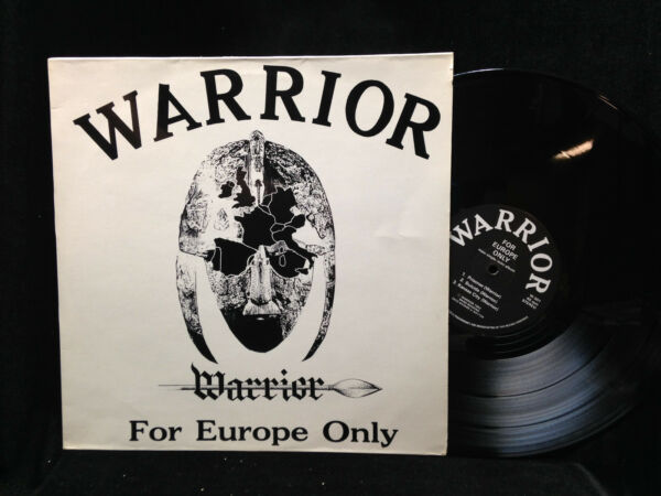 Warrior-For Europe Only-45RPM EP NWOBHM 1983