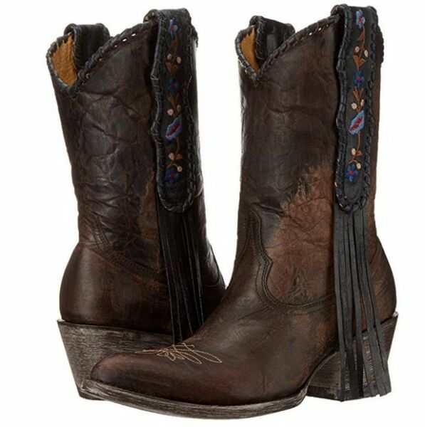 New Yippee Kay Yay Old Gringo Womens Cool Water Boot Vesuvio Chocolate Size 8.5