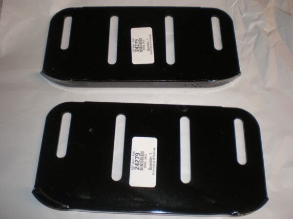 SET OF 2 Sears Craftsman Skids Shoes 24279 Tractor Snow Blower Thrower