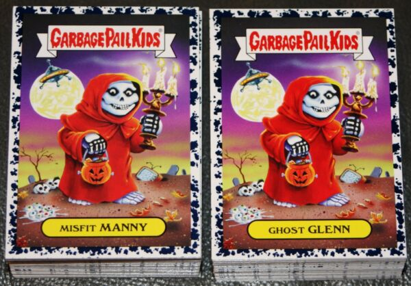 2017 GARBAGE PAIL KIDS BATTLE OF THE BANDS COMPLETE BRUISED SET 180 CARDS GPK