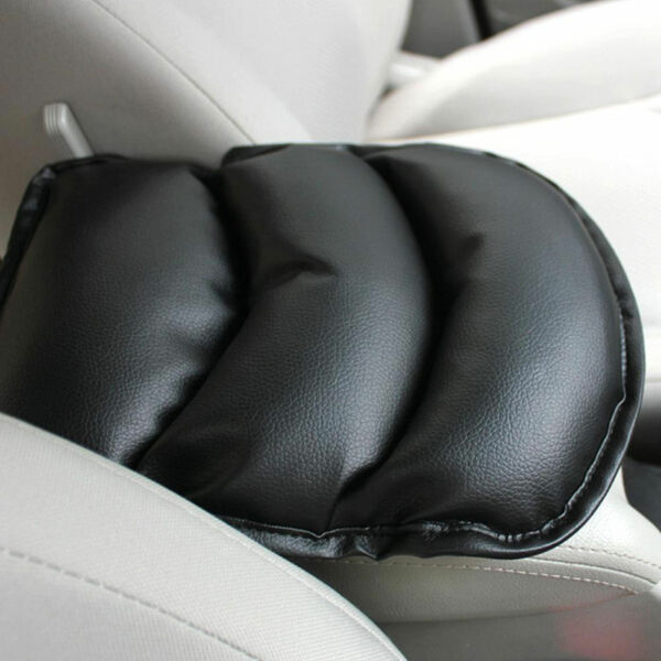 Auto Accessories Car Armrest Center Console Box Leather Soft Cushion Pad Cover