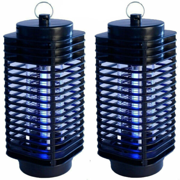 2Pack Electric Mosquito Fly Bug Insect Zapper Killer Trap Lamp Stinger Pest 110V $18.99