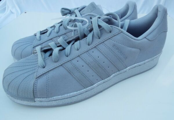 Adidas  Superstar Clonix-Clonix- Silver Men's Tennis Shoes Size 10.5