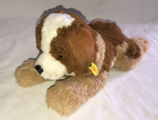 Steiff Junior Bernie Dog St. Bernard Plush 2888 35 $29.99