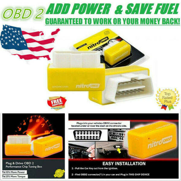 OBD2 SUPER PERFORMANCE CHIP FOR CHEVY SILVERADO 2500 SAVE GAS 4.8L 5.3L 6.0 V8