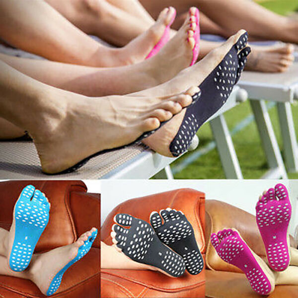Foot Sticker Shoes Stick on Soles Sticky Pads for Feet Pad Protection (2 Pairs ) $9.99