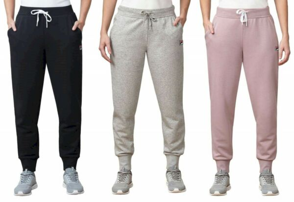Fila Womens French Terry Jogger Pants Choose Size & Color -B