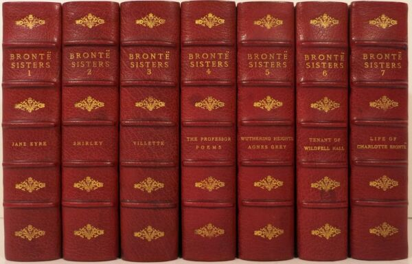 LIFE AND WORKS OF CHARLOTTE BRONTE AND HER SISTERS 1900