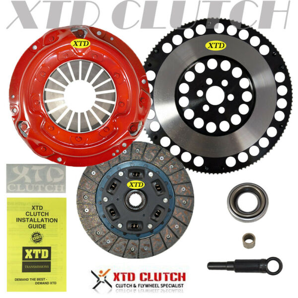 AMC STAGE 2 CLUTCH & 11LBS FLYWHEEL KIT FOR 240SX 2.4L BASE LE SE KA24DE KA24E