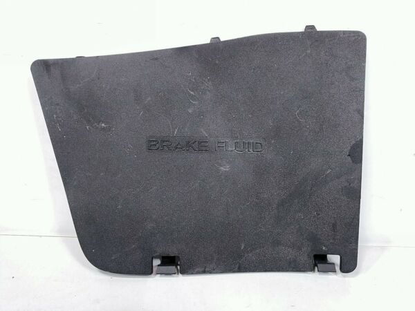 2009 Infiniti G37 Convertible Brake Fluid Engine Access Cover Panel Trim Door