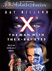 X The Man with the X Ray Eyes DVD 1963