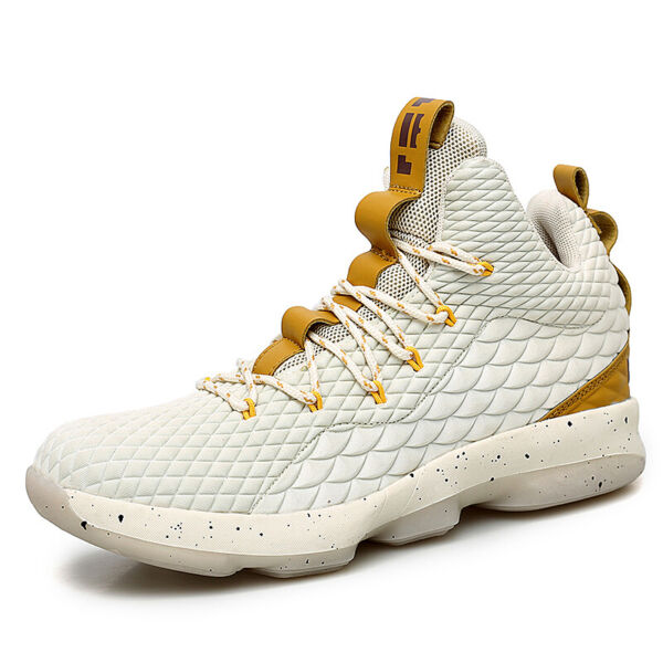 Mens Basketball Shoes High Top Training Shoes Fashion Athletic Sneakers Big size