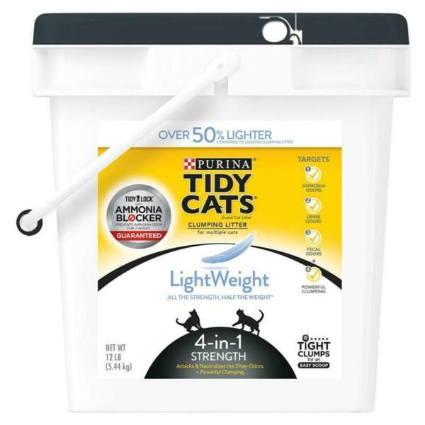 Purina Tidy Cats LightWeight 4-in-1 Strength Clumping Cat Litter Fast Shipping