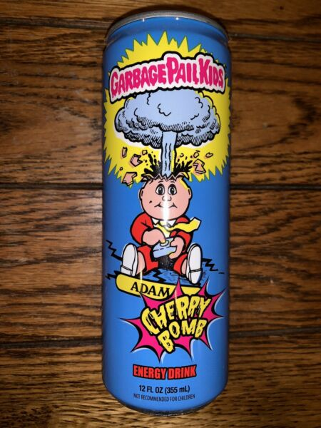 GARBAGE PAIL KIDS OFFICIAL ENERGY DRINK!! NEW FYE NICE