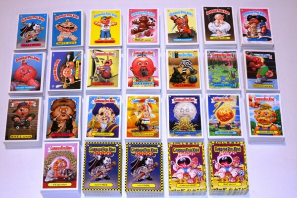 TOPPS GARBAGE PAIL KIDS OS1-15 ANS1-FB2 COMPLETE SETS ALL 24 SETS 1985-2011 1ST