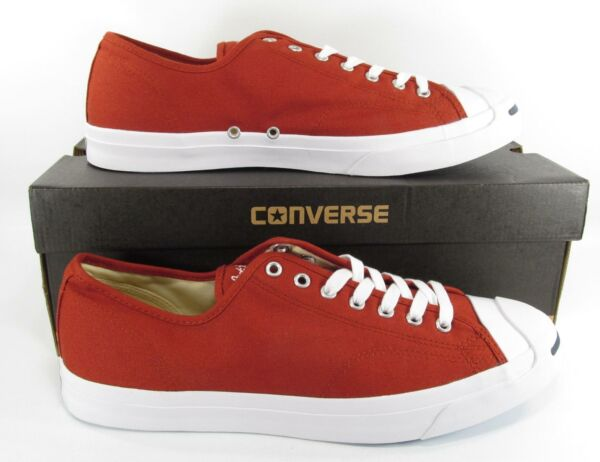 Converse Jack Purcell JP JACK OX Low Top Sneaker TERRA RED 157784C Men's 13