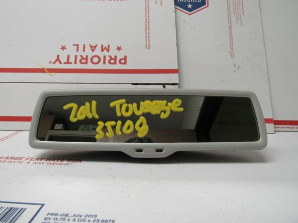 2011 2012 2013 2014 2015 2016 VOLKSWAGEN TOUAREG REAR VIEW MIRROR