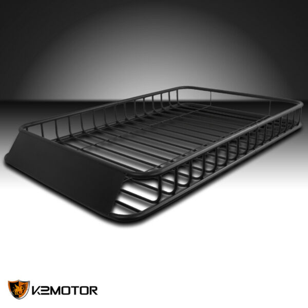 62quot;x39quot; Universal Roof Rack Luggage Hold Cargo Car Top Carrier Basket SUV Truck $298.83