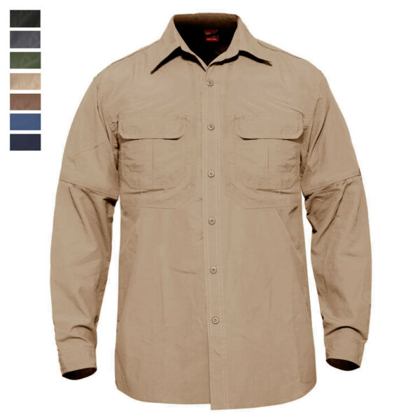Casual Men's Quick Drying Long Sleeve Military Shirt Army Outdoor Training Shirt