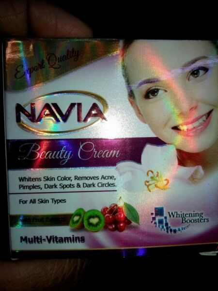 Navia Beauty Cream Natural Original with fruit extracts Frm Pakistan Mutivitamin