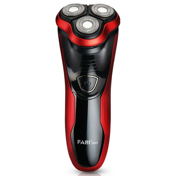 FARI Rotary Electric Razor Shaver with Pop-up Trimmer Wet & Dry Razor for Men