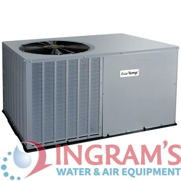 EcoTemp 14 SEER 4 Ton Heat Pump Package Unit WJH448000KTP0A $2535.65