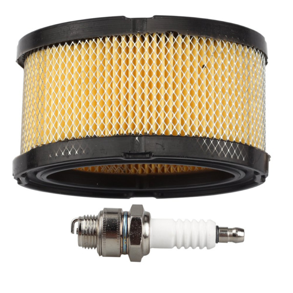 Anzac 33268 Paper Air Filter with Spark Plug for Tecumseh HM70 HM80 TVM195 VM80
