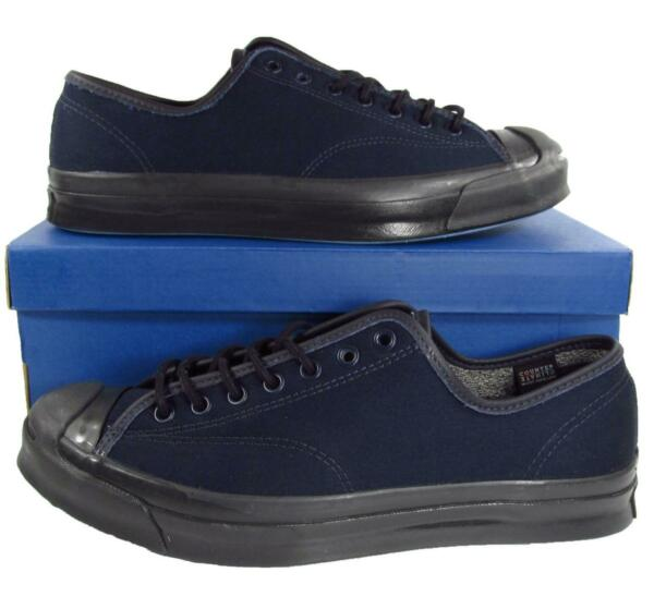 Converse Jack Purcell JP Signature Series Ox INKED Navy Blue 153944C Men's 11.5