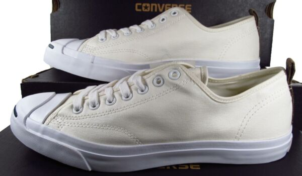 Converse Jack Purcell JP JACK OX Nylon WHITE Lunarlon Sole 151481C (10 MEN'S)