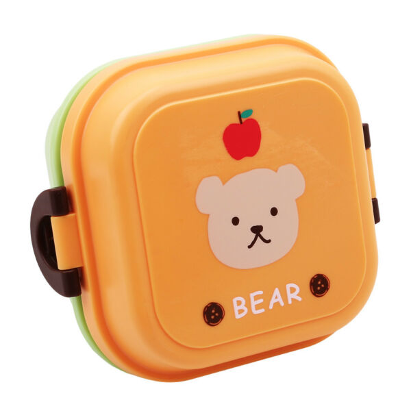 Baby Kids Children Bento Lunch Box Mess Tin Dinner Pail Bucket Food Container LI