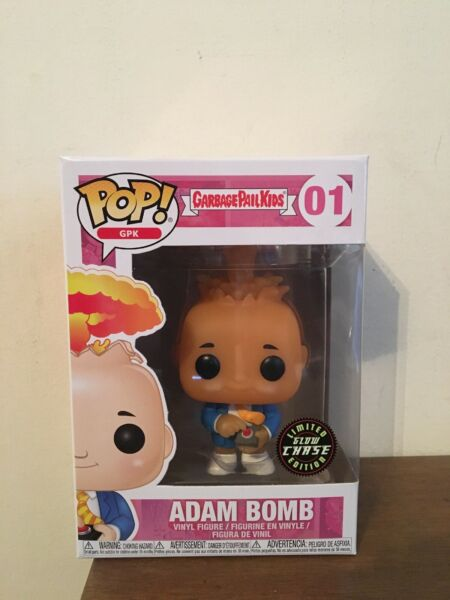 Garbage Pail Kids Adam Bomb Funko Pop Chase Edition Vinyl Figure #01 New