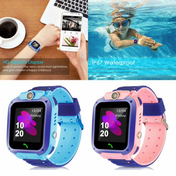 USA Smart Watch with GSM Locator Touch Screen Tracker SOS for Kids Children