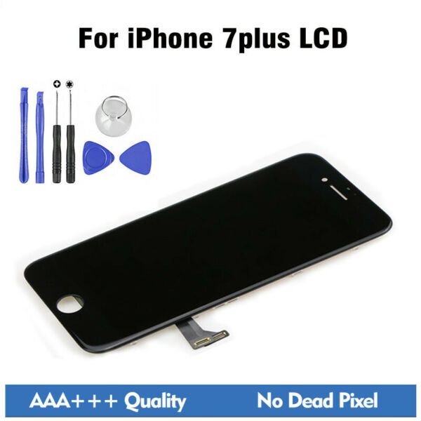 AAA+ For Iphone 7 Plus LCD Display Screen Digitizer Assembly Replacement+Tools