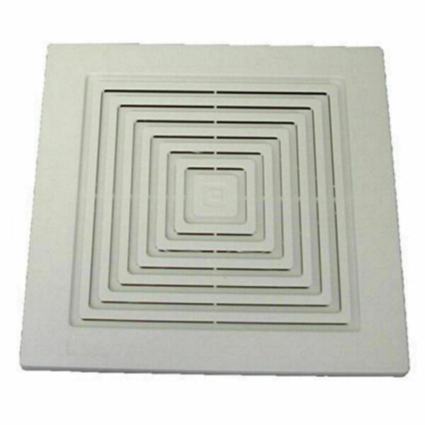 Bathroom Fan Cover Replacement Grill Vent Ventilation White Broan 9