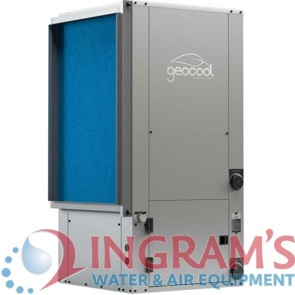 5 Ton 25.8 EER 2 Stage GeoCool Geothermal Heat Pump Vertical Package Unit $5474.11