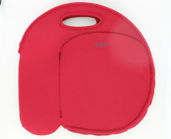 Built NY byobag - Neoprene Lunch with Bottle Tote Bag - Red