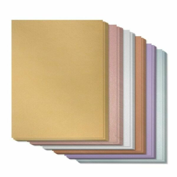 96 Pack 8.5x11 6 Colors Stationary Paper for Parties Announcement Letters Craft $12.99