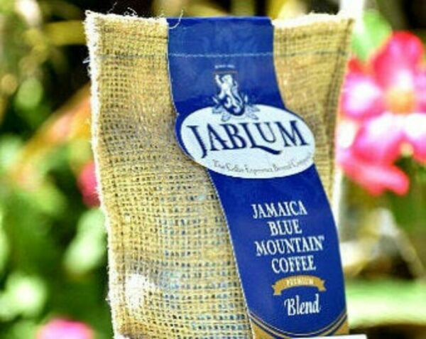 JABLUM PREMIUM BLENDDARK ROAST AND GROUND 1LB JAMAICA BLUE MOUNTAIN COFFEE